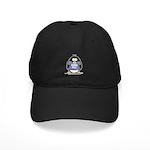 Seniors Rule penguin Black Cap