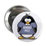 Seniors Rule penguin Button