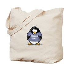 Seniors Rule penguin Tote Bag