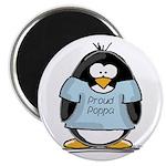 Proud Poppa penguin Magnet