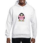 Proud Momma penguin Hooded Sweatshirt