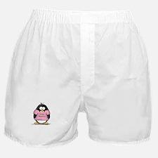 Proud Momma penguin Boxer Shorts