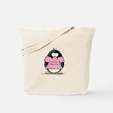 Proud Momma penguin Tote Bag