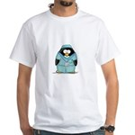 Operating Room Penguin White T-Shirt