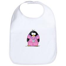 Nurse Penguin Bib