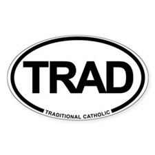 Trad Euro Oval Decal