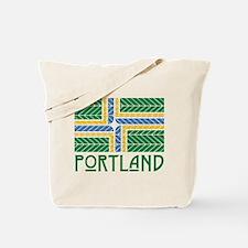 Chevron Portland Tote Bag