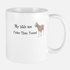 My Kids are Cuter than Yours (Toggenburg) Mugs