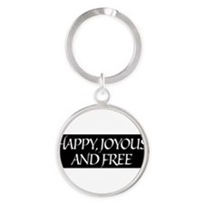 Funny Traditional Round Keychain