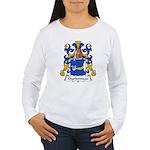 Charbonneau Family Crest Women's Long Sleeve T-Shi