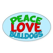 Bull Dogs Decal