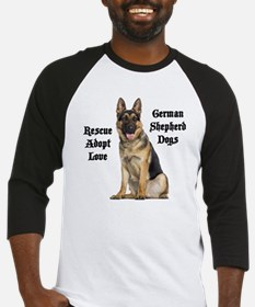 Love GSDs Baseball Jersey