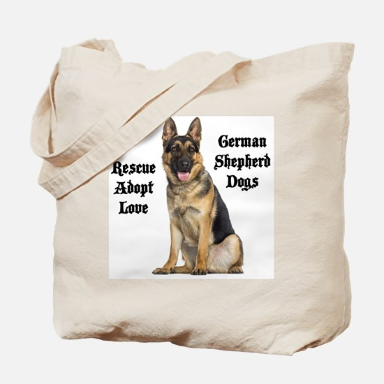 Love GSDs Tote Bag