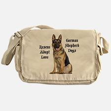 Love GSDs Messenger Bag