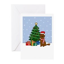 Irish Setter Howl'n Holiday Greeting Cards (10 Pk)