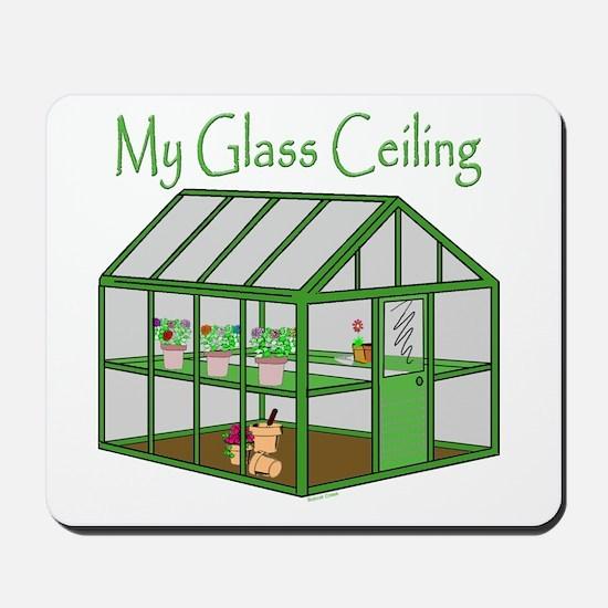 Glass Ceiling Mousepad