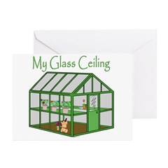 Glass Ceiling Greeting Cards (Pk of 20)