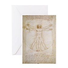DaVinci Nineteen Greeting Card