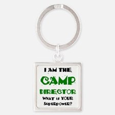 camp director Square Keychain
