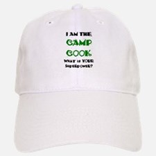 camp cook Baseball Baseball Cap