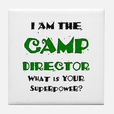camp director Tile Coaster
