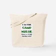 camp nurse Tote Bag