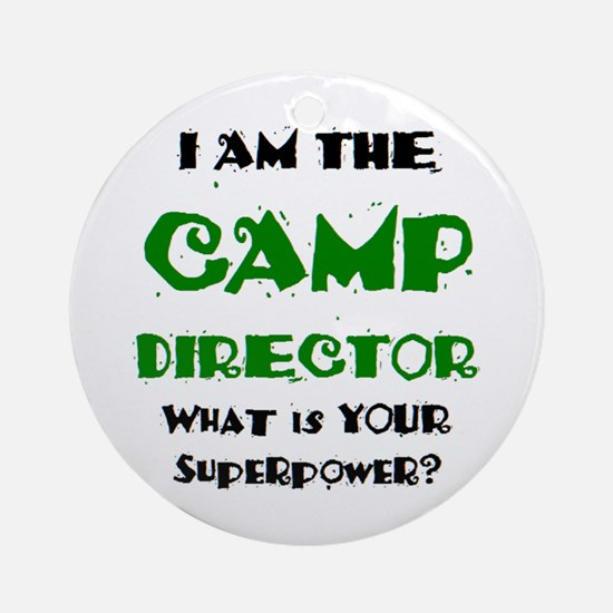 camp director Ornament (Round)