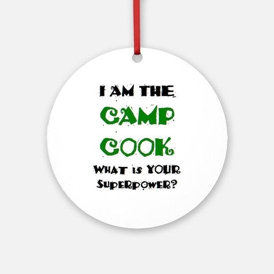 camp cook Ornament (Round)