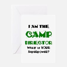 camp director Greeting Card