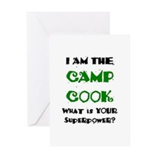 camp cook Greeting Card