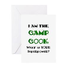 camp cook Greeting Card