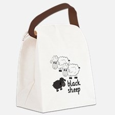 Black Sheep Canvas Lunch Bag