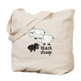 Black sheep Canvas Bags