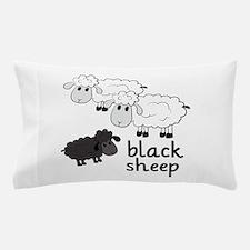 Black Sheep Pillow Case