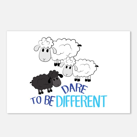 Be Different Postcards (Package of 8)