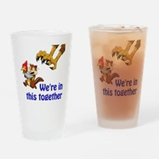 Cute Compassion Drinking Glass