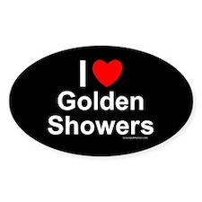 Golden Showers Decal