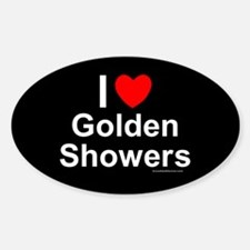 Golden Showers Decal