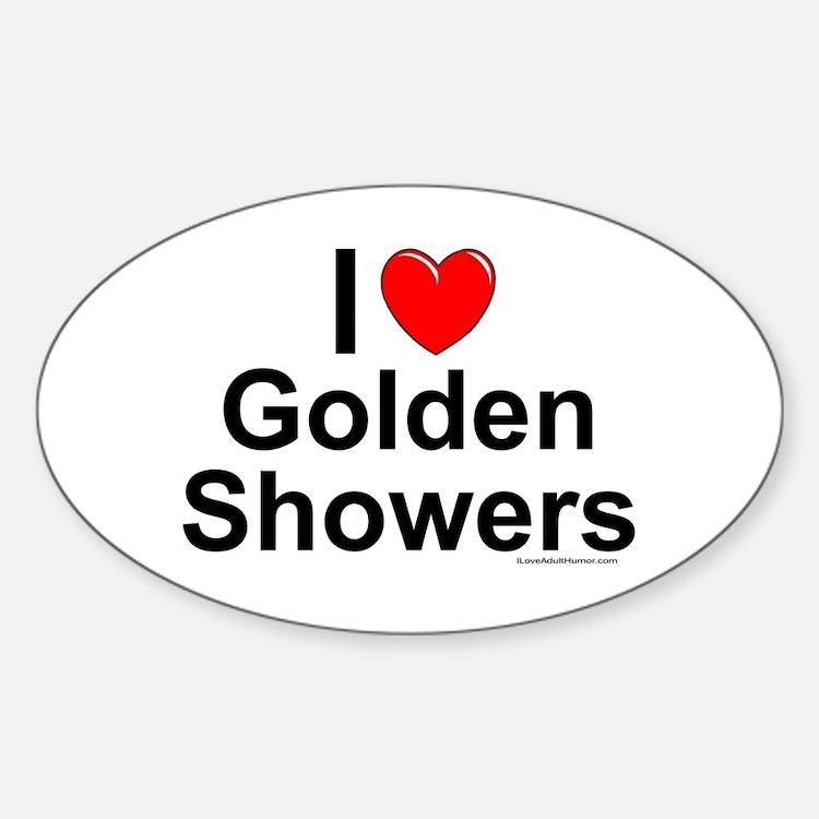 Golden Shower Bumper Stickers Car Stickers Decals Amp More