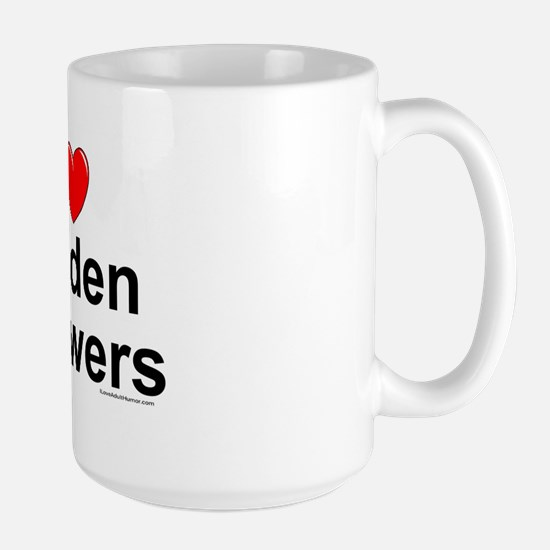 Golden Showers Large Mug