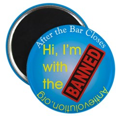 """After the Bar Closes 2.25"""" Magnet (10 pack)"""
