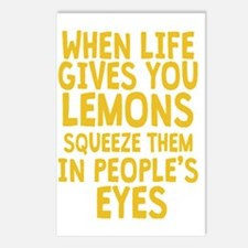 Antisocial Lemons Postcards (Package of 8)