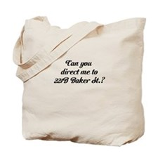 Can you direct me to 221B... Tote Bag
