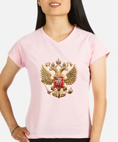 Russian Federation Coat of Performance Dry T-Shirt