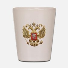 Russian Federation Coat of Arms Shot Glass