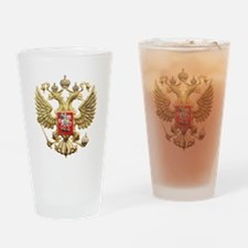 Russian Federation Coat of Arms Drinking Glass