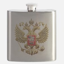 Russian Federation Coat of Arms Flask