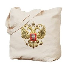 Russian Federation Coat of Arms Tote Bag