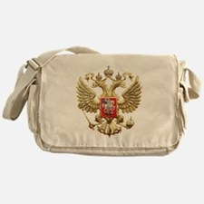 Russian Federation Coat of Arms Messenger Bag