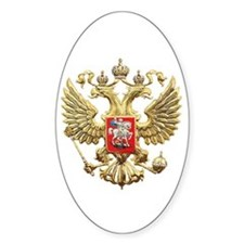 Russian Federation Coat of Arms Decal